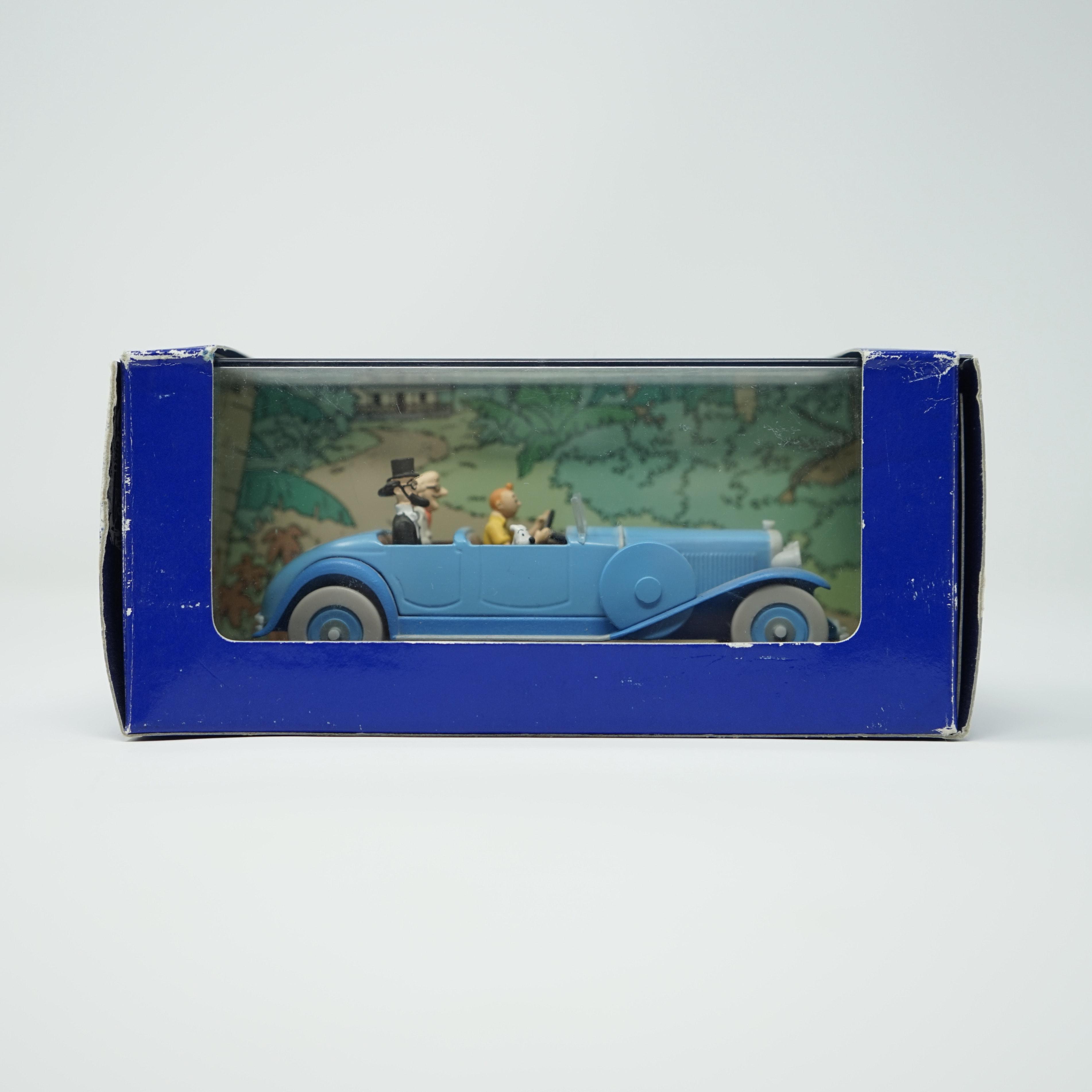 La Lincoln Torpedo des Cigares du Pharaon En Voiture Tintin Éditions Atlas