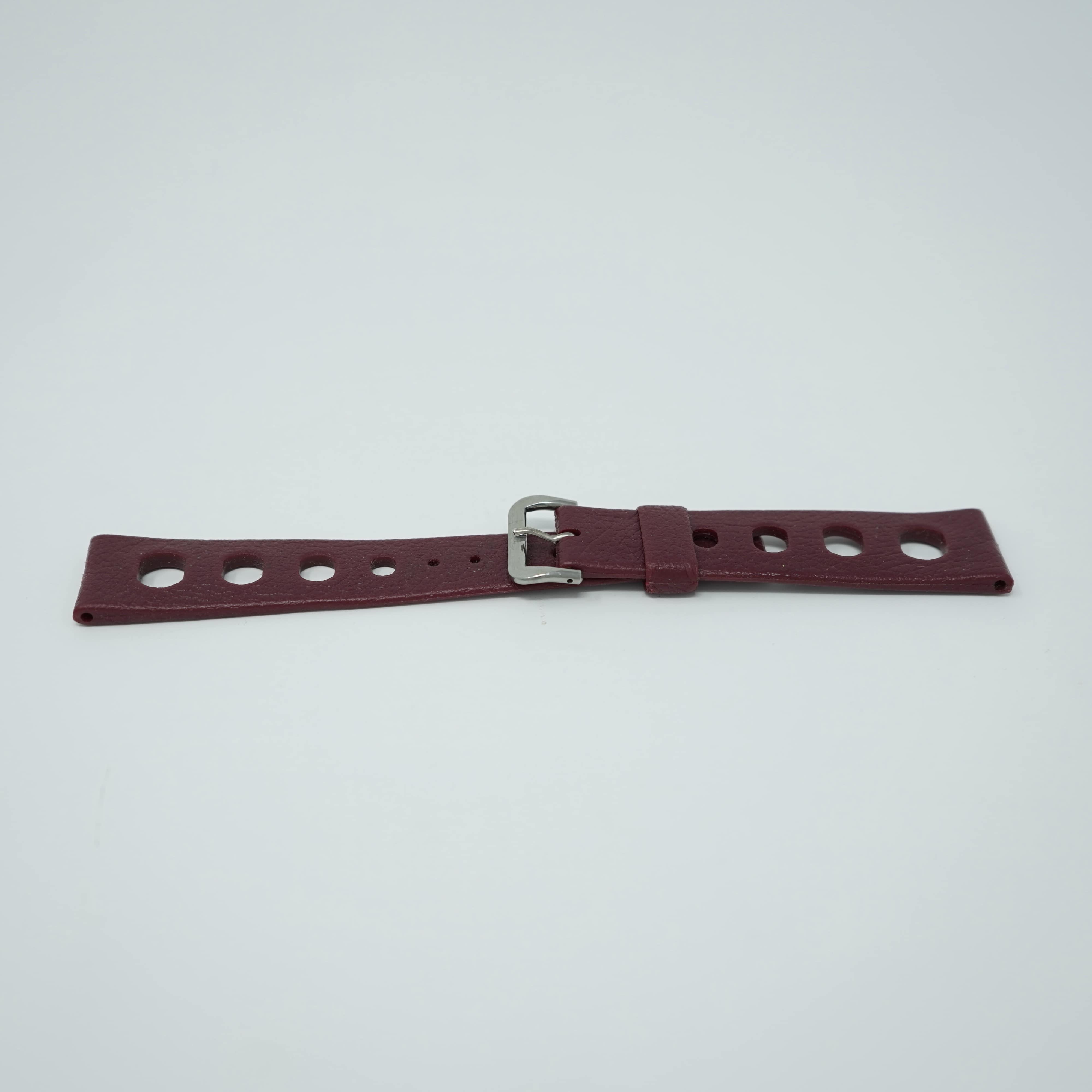 Bracelet Tropic Sport Bordeaux 20mm Avant