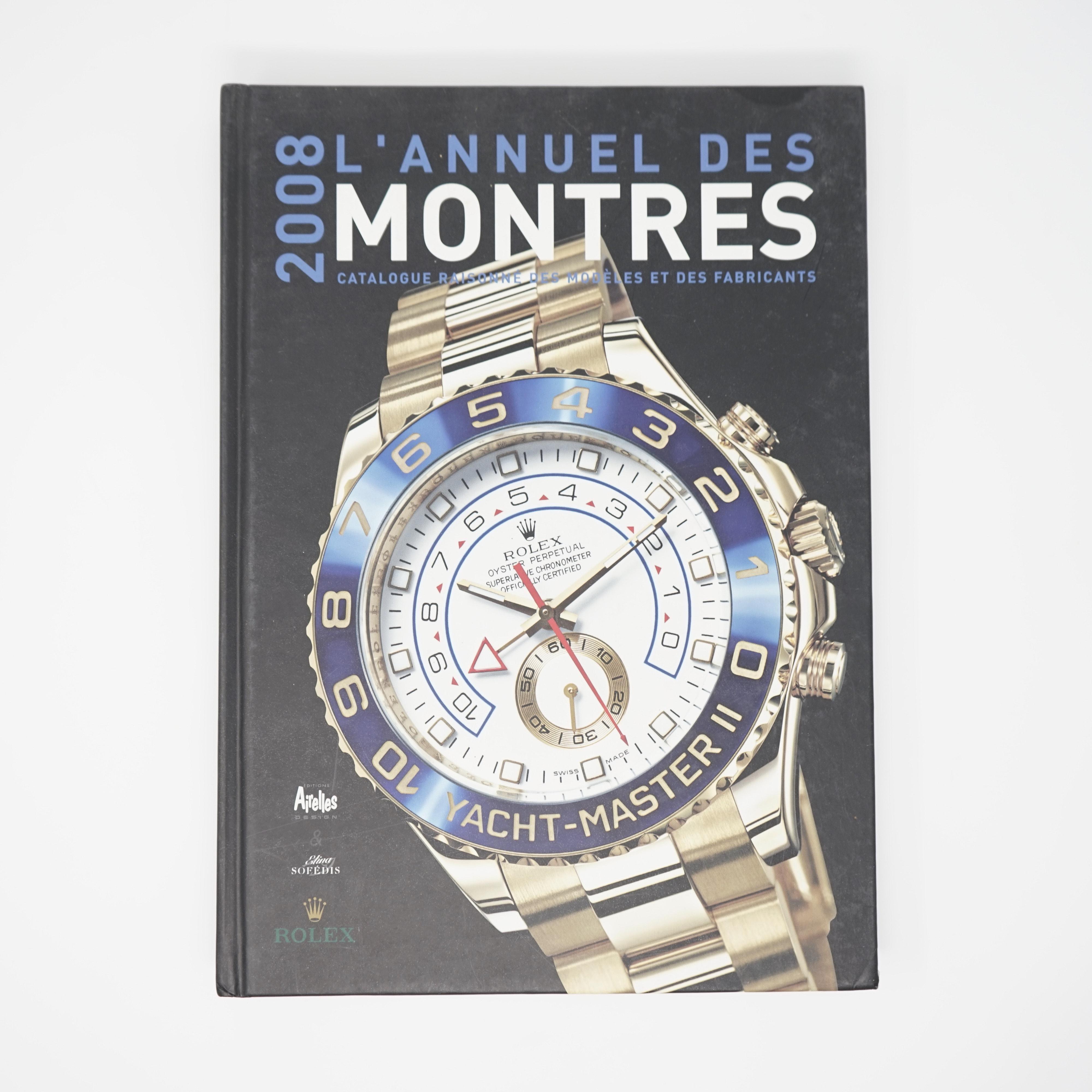 L'Annuel des Montres Année 2008 Couverture