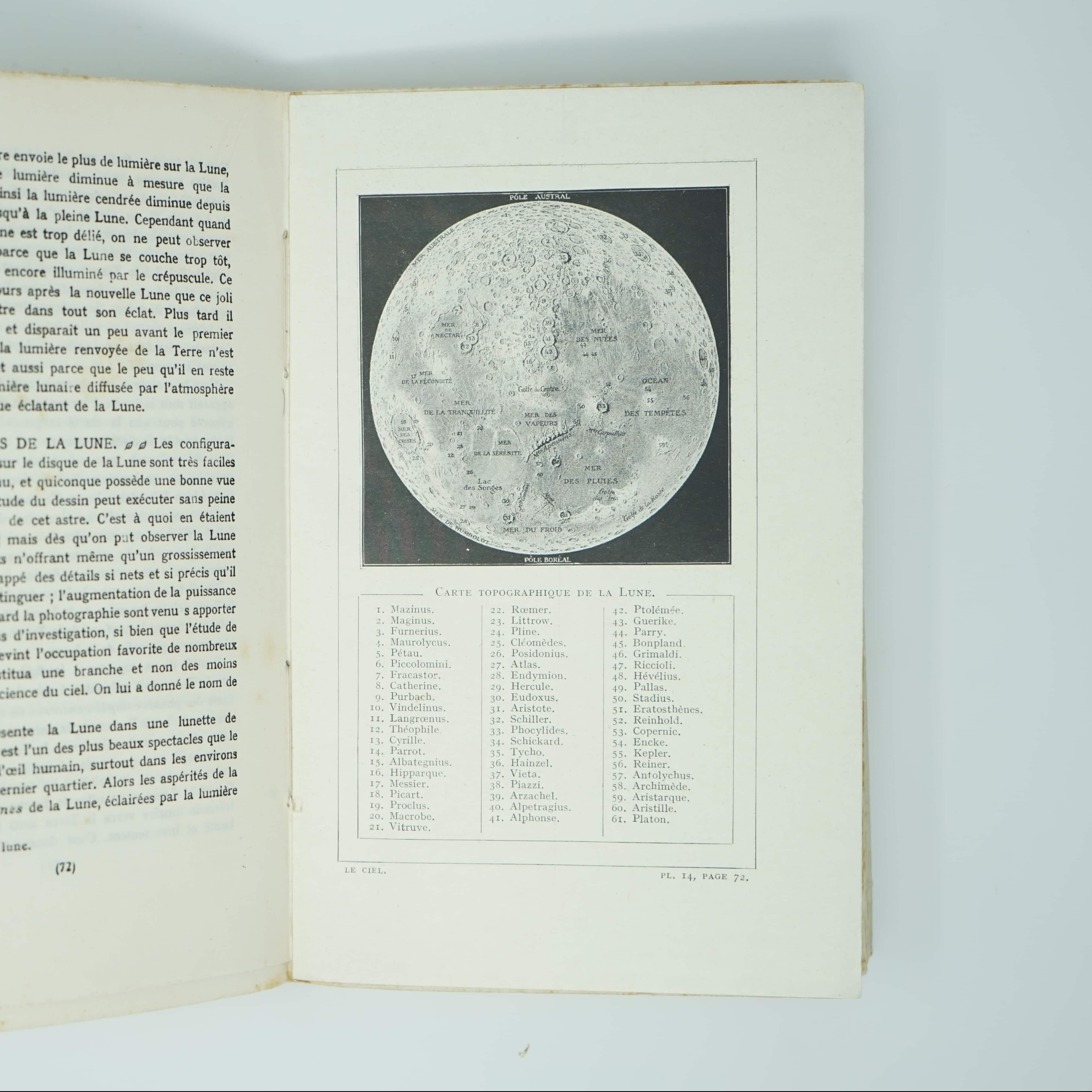 Livre Les Merveilles du Ciel Année 1926 intérieur