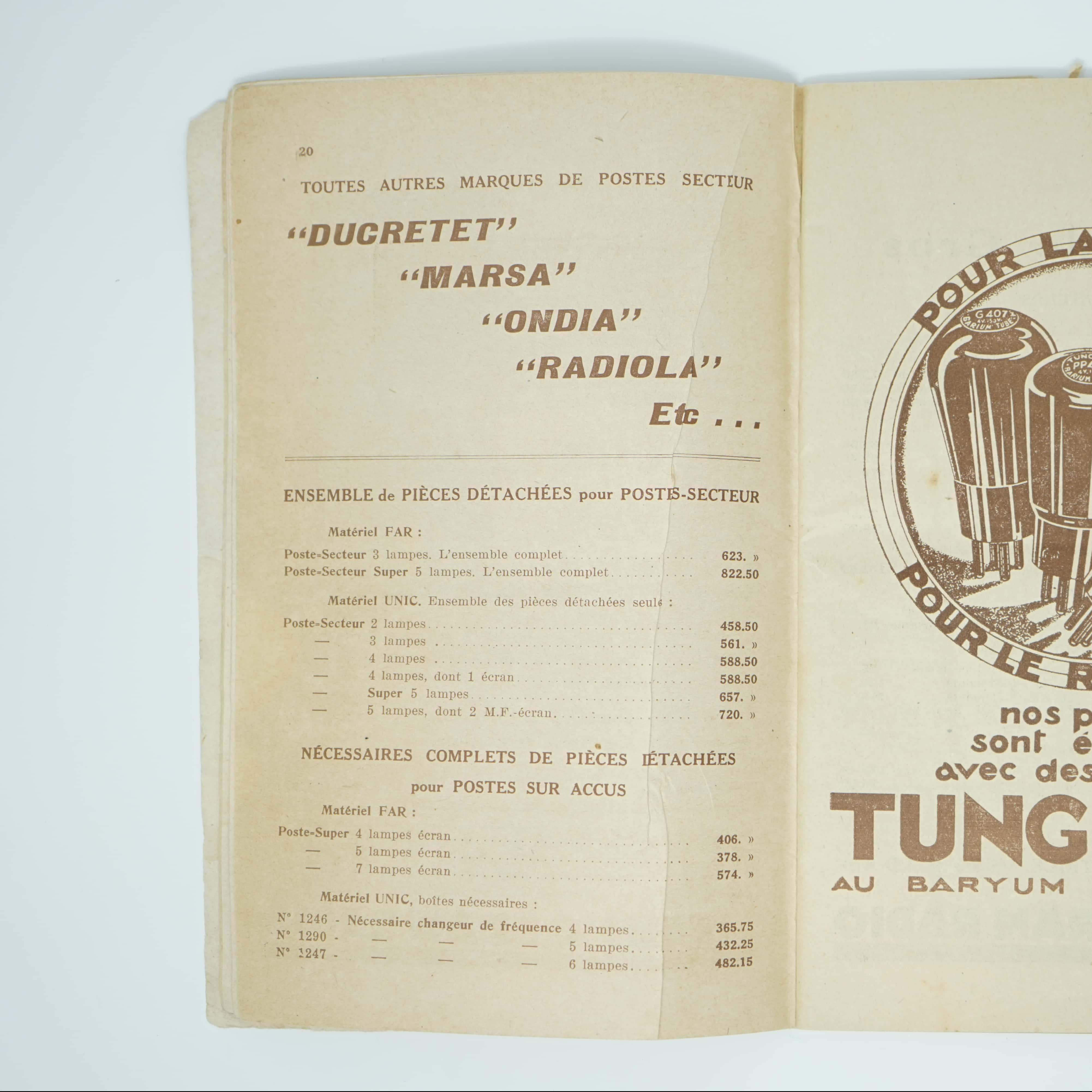 Catalogue Ancien Central-Radio intérieur