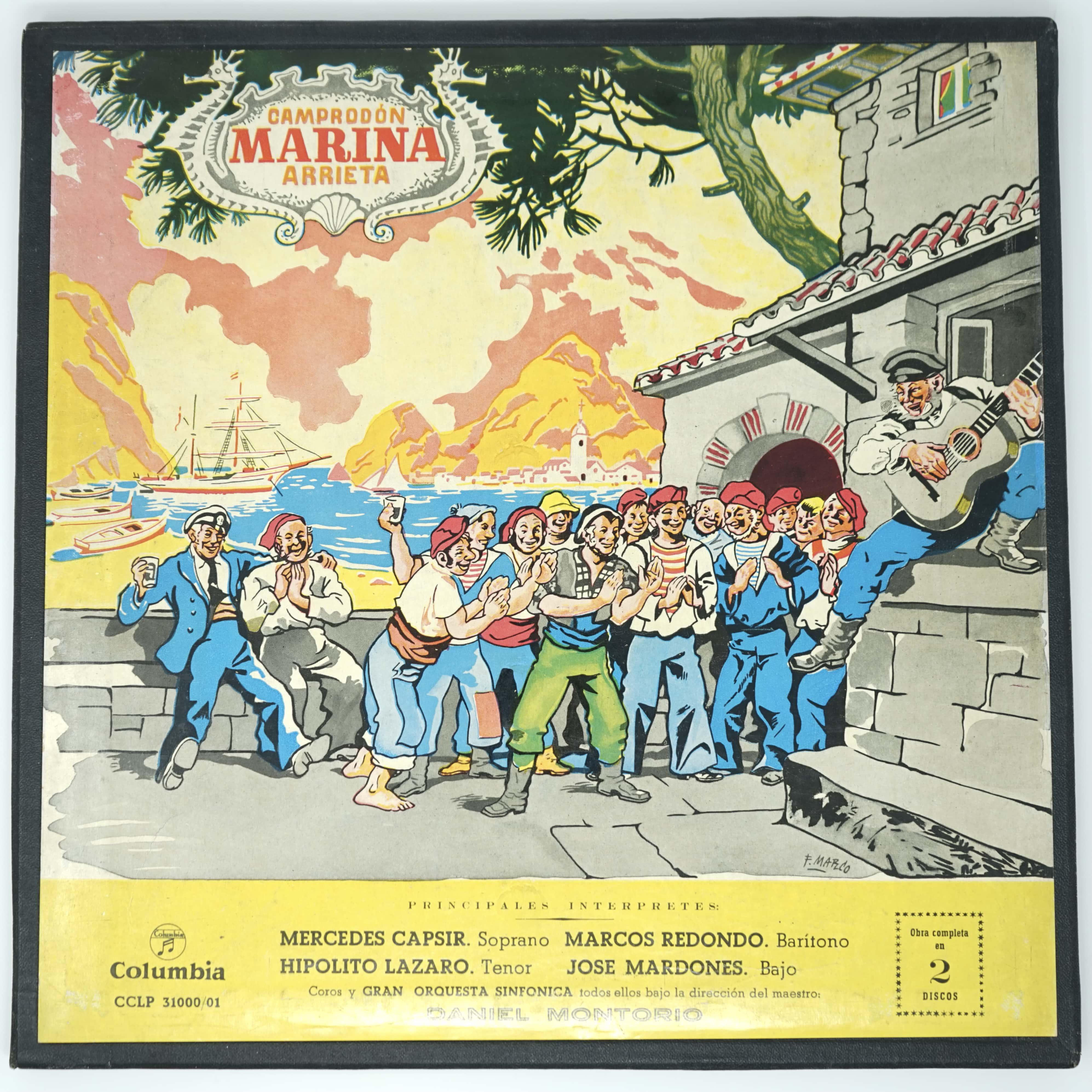 Coffret Vinyles Opéra Marina Devant
