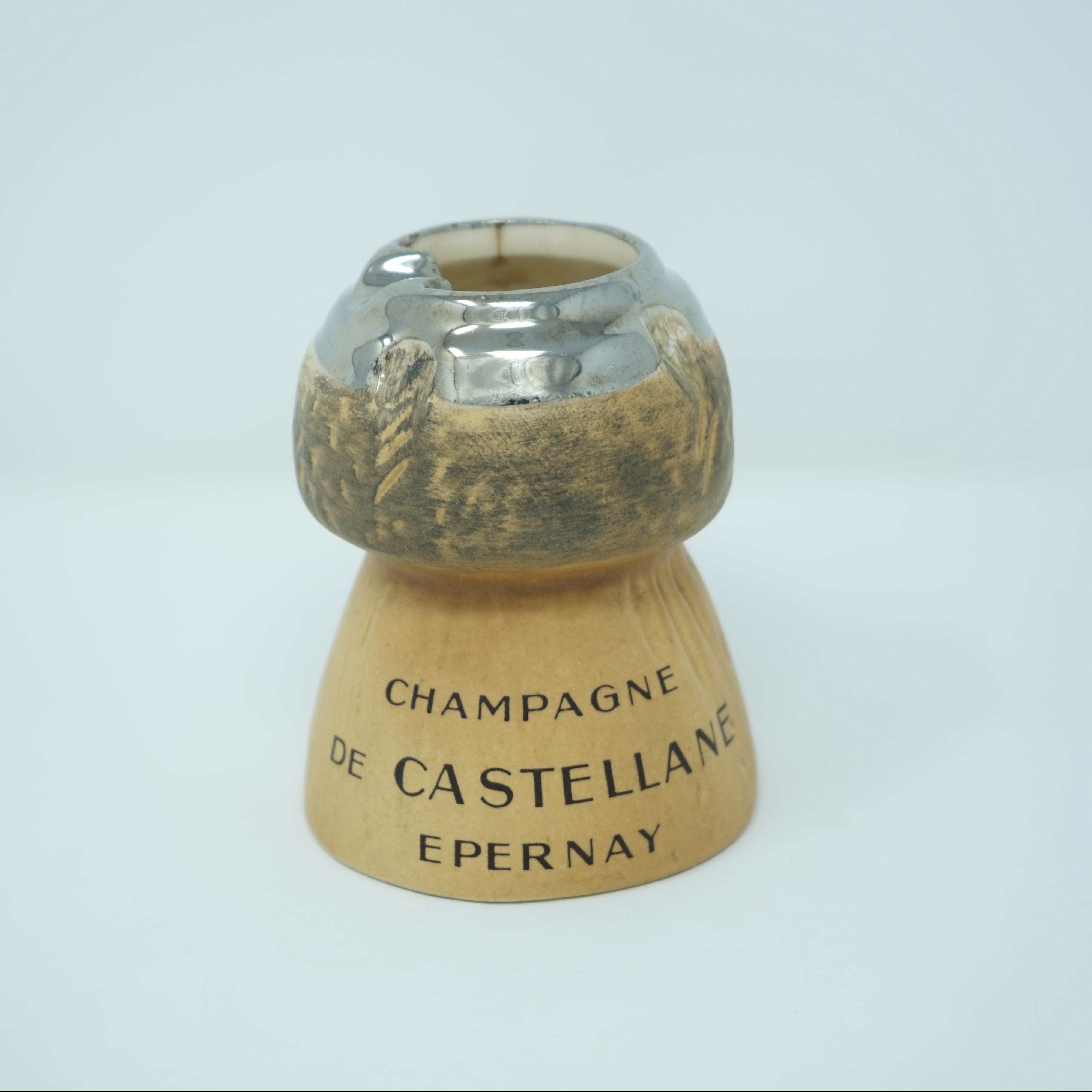 Cendrier Publicitaire Champagne de Castellane