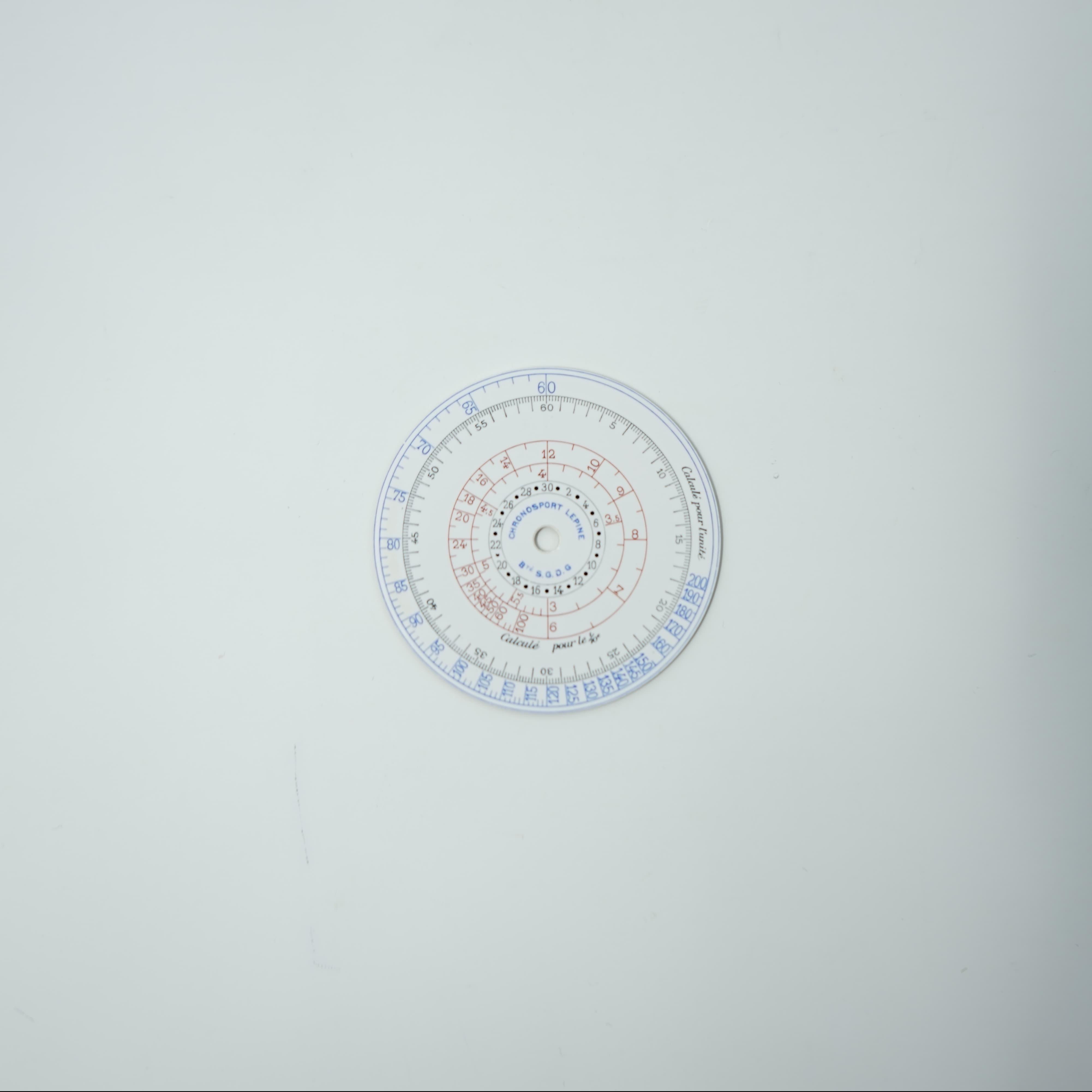 Cadran Chronosport Lepine