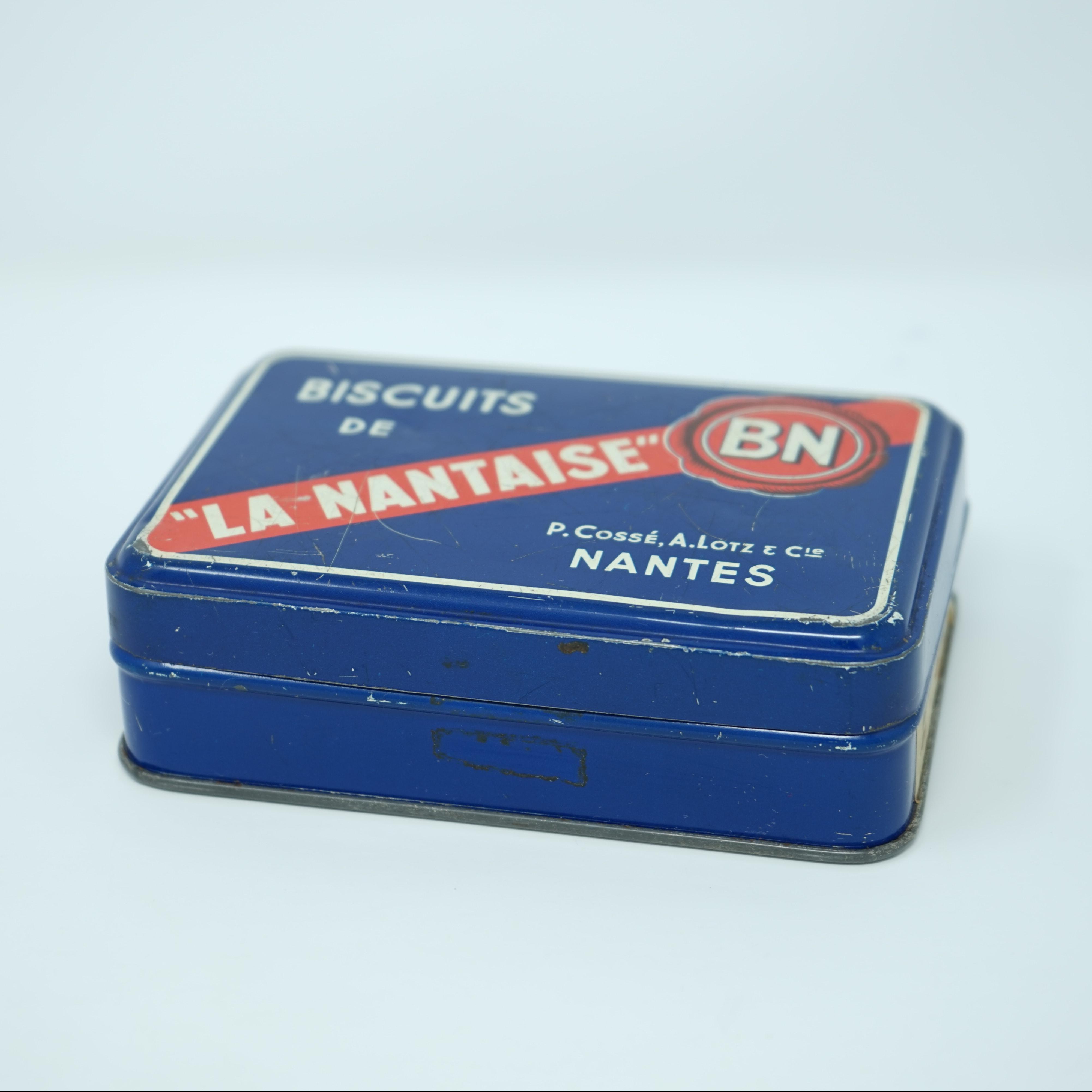 Boîte Publicitaire Biscuits de La Nantaise