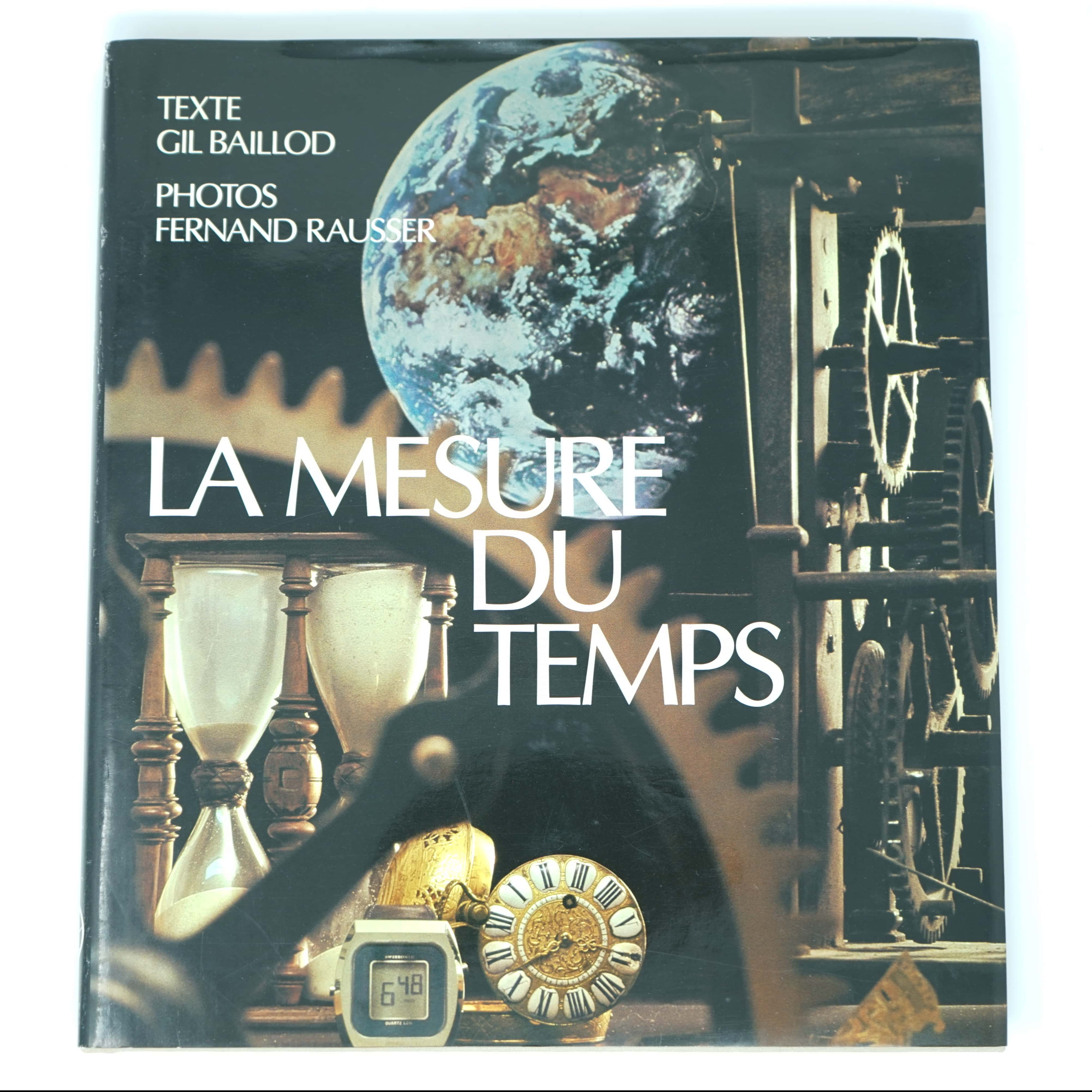 Livre La Mesure du Temps 1979 couverture
