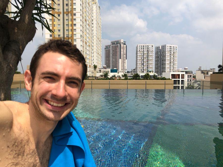 Piscine au Vietnam