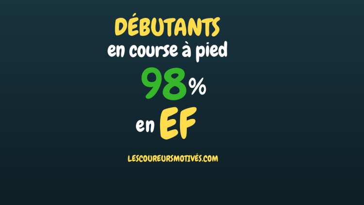 Débutants - 98% en EF