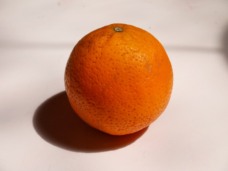 une belle orange