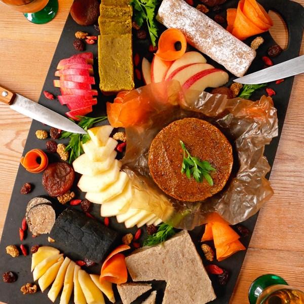 plateau fromages végétaux