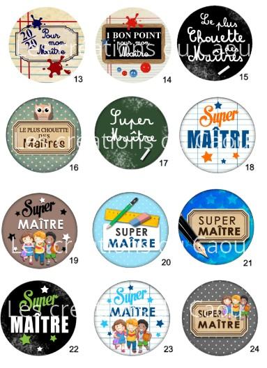 Images pour petit cadeau pour remercier le maitre de votre enfant: magnet, miroir, porte-clés, décapsuleur, badge, marque-page.