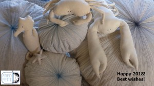 création-textile-poisson-crabe-homard-hippocampe