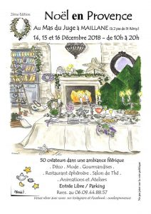 noel en Provence, MasDu Juge, Maillane