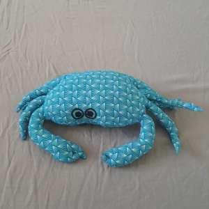 crabe repose-tête turquoise