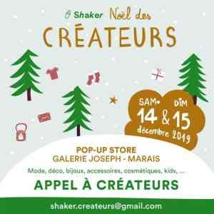 noel des créateurs, skaker, Paris, galerie Joseph, Marais, 14 et 15 décembre