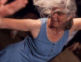 nancy dancing