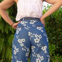 Pantalon coupe seventies, patron SORELL de chez Pauline Alice