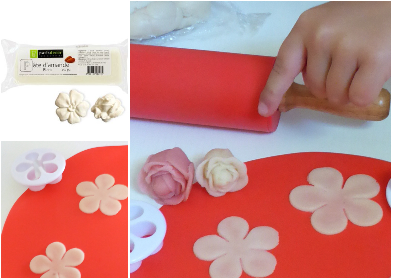 un atelier de roses en pate d amande