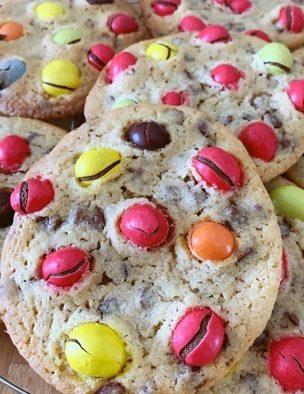 Les Cookies M&M's