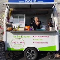 Street food : Bar à jus nomade dans els Alpes de Haute Provence : Les Délices de Nini