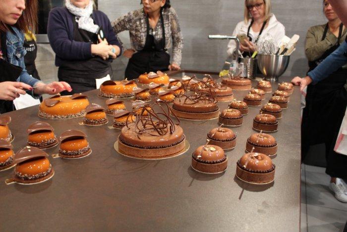 masterclass julien Loustau formation et cours de pâtisserie
