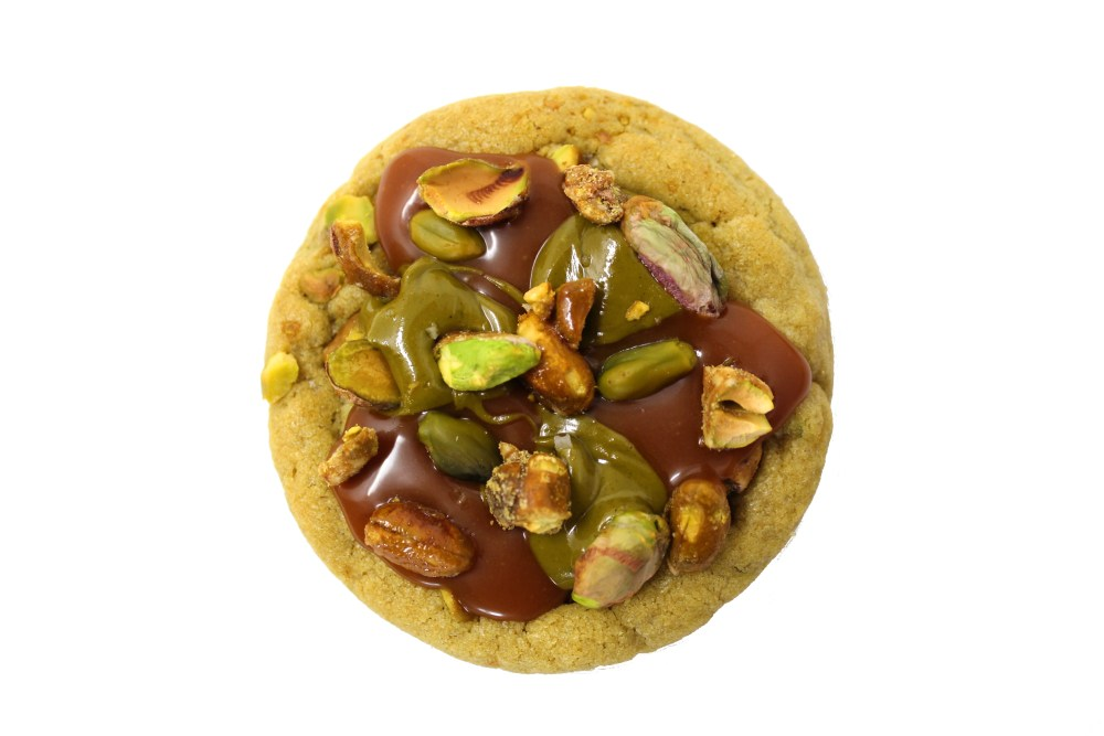 cookies recette pistache