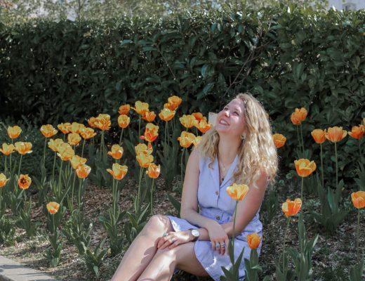 Look de printemps dans la capitale - Lesdeuxchouettes.fr