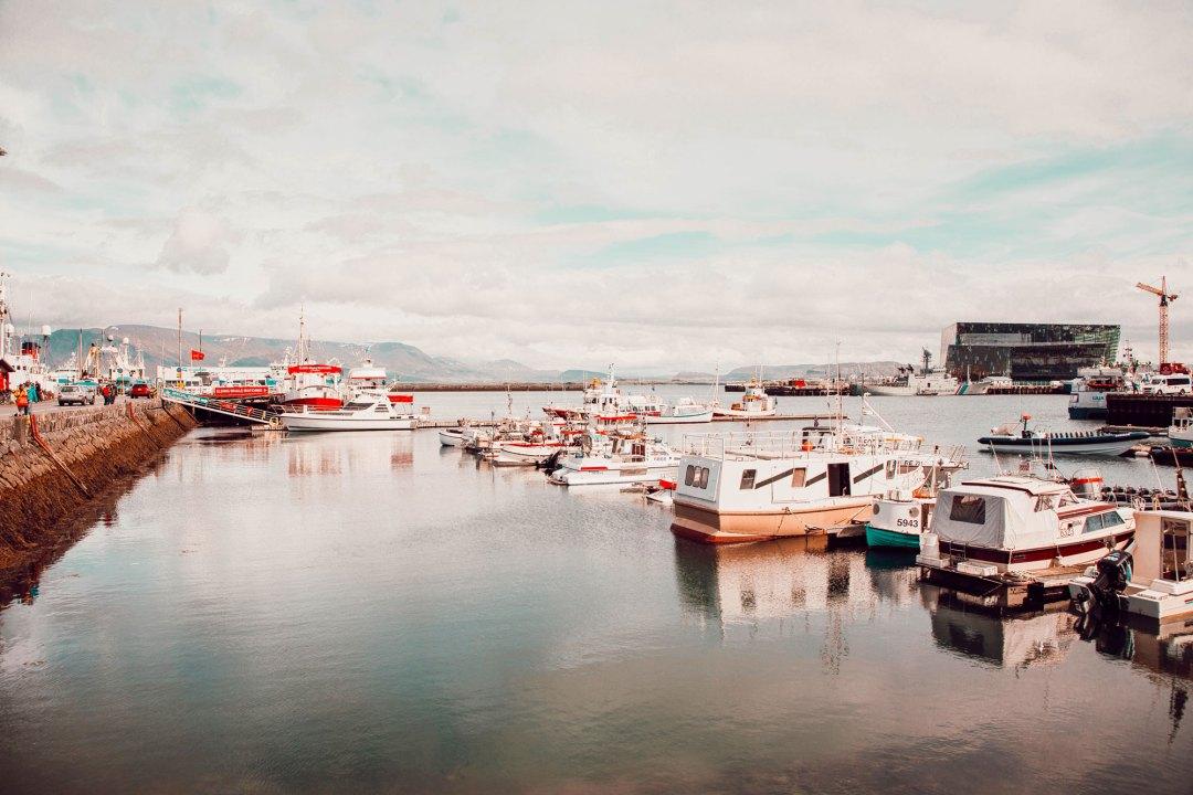 Reykjavík et ses environs - Le port - Lesdeuxchouettes.fr