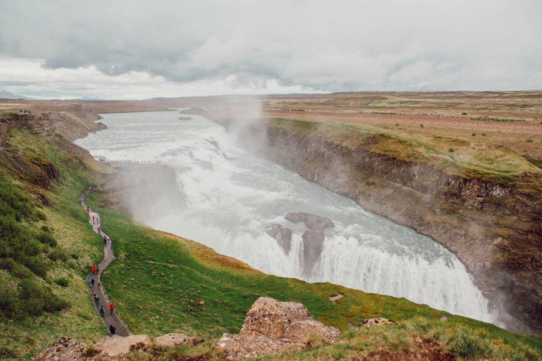 Reykjavík et ses environs - Gulfoss - Lesdeuxchouettes.fr