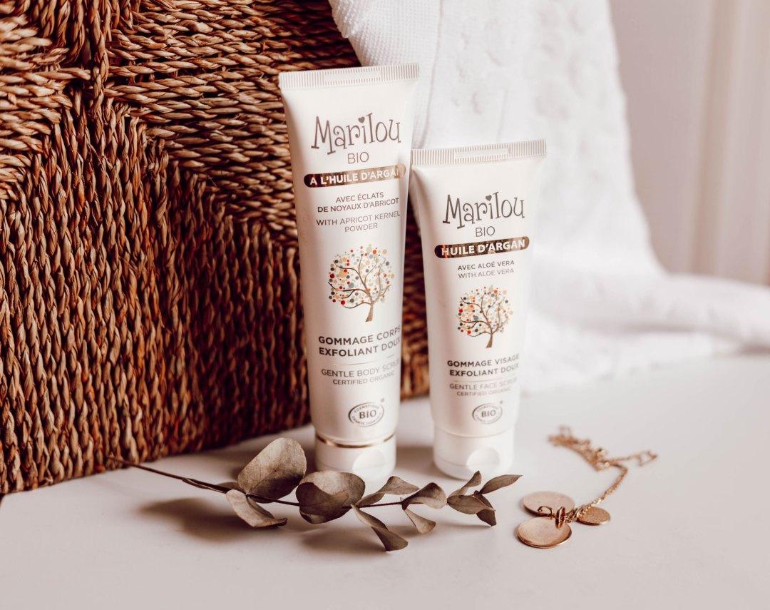 Gommage Marilou Bio - Nos produits bios pour l'été - Lesdeuxchouettes.fr