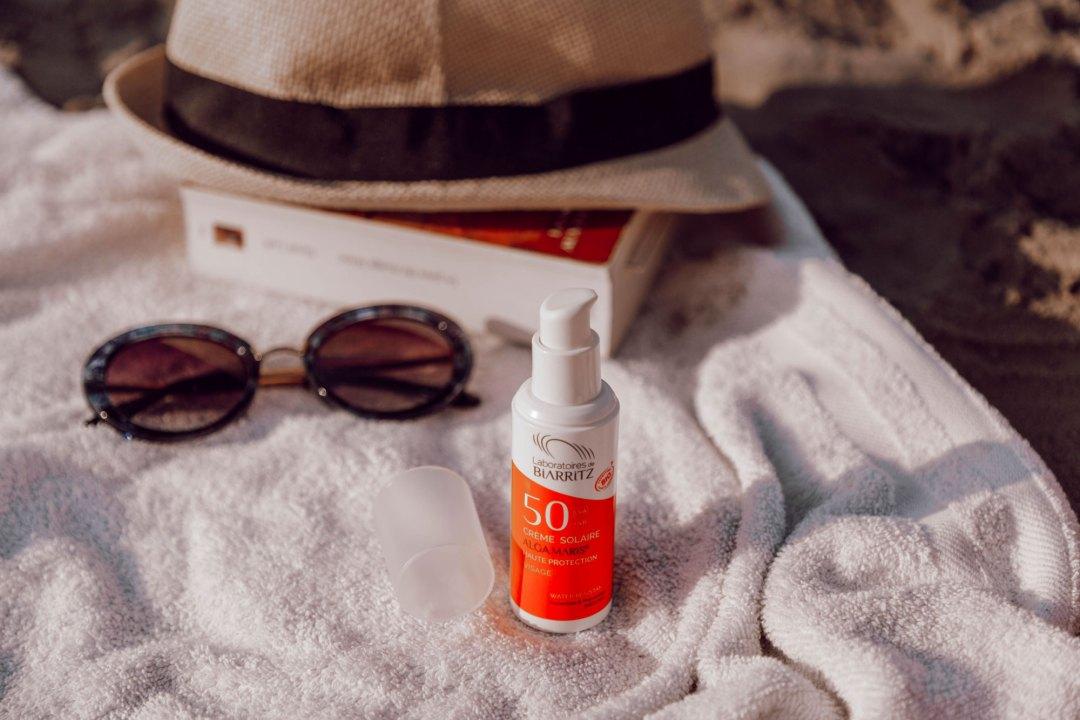 Crème solaire Laboratoires Biarritz - Nos produits bios pour l'été - Lesdeuxchouettes.fr