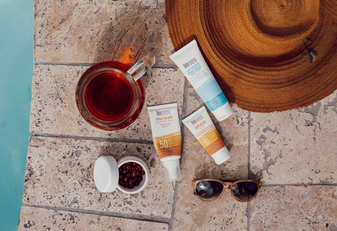 Nos conseils pour une belle peau avec les produits solaires Bioregena - Les Deux Chouettes