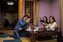Au restaurant avec les parents de Yusei