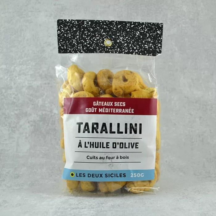 Tarallini goût méditerranée