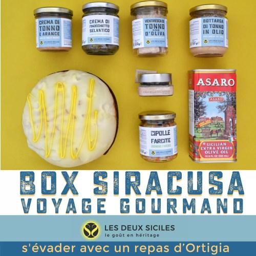 Box Gastronomique Syracuse
