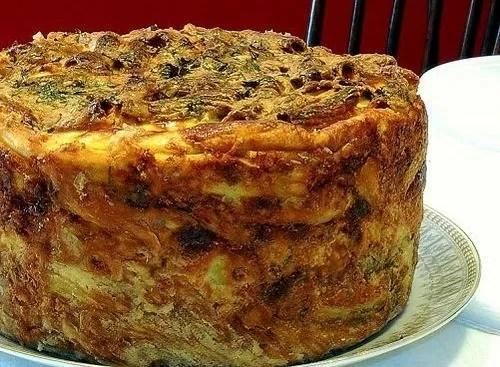 Taganu d'Aragona : plat traditionnel sicilien de Pâques