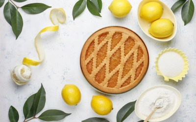 Crostata à la marmelade de citron