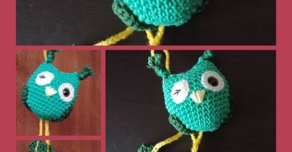 épingle pinterest amigurumi porte-clefs hibou