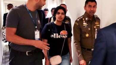 Photo de Une jeune Saoudienne demandeuse d'asile placée «sous la protection» du HCR