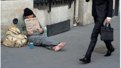 Photo de Oxfam: Entre riches et pauvres, les inégalités s'emballent
