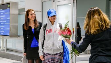 Photo de Arrivée au Canada,la Saoudienne Rahaf Mohammed al-Qunun entame une nouvelle vie