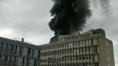 Photo de VIDEO – Lyon : Explosions et incendie sur un campus du Domaine scientifique