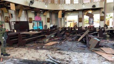 Photo de Attentat terroriste contre une cathédrale aux Philippines, 18 morts
