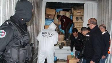 Photo de Plus de 15 tonnes de résine de cannabis saisies à Tanger