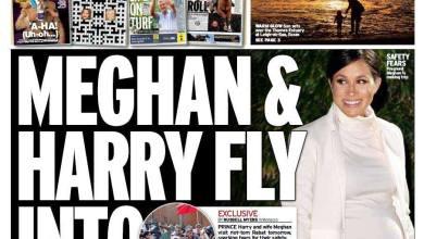 Photo de La Une «diplomatiquement» très incorrecte du Daily Mirror