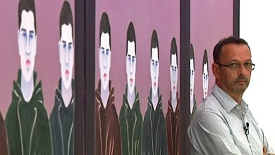 "Photo of Djamel Tatah présente ses ""œuvres silencieuses"""