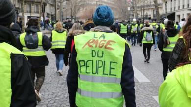Photo de L'acte 12 des gilets jaunes  dédié aux victimes des violences policières