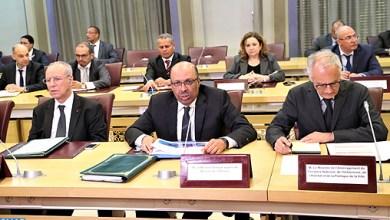 Photo de Réunion pour examiner l'état d'avancement du Plan de développement du Grand Casablanca