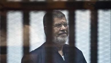 Photo de Mohammed Morsi est mort lors d'une audience au tribunal