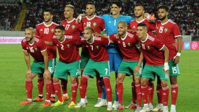 Photo de CAN-2019. Arrivée des Lions de l'Atlas en Egypte